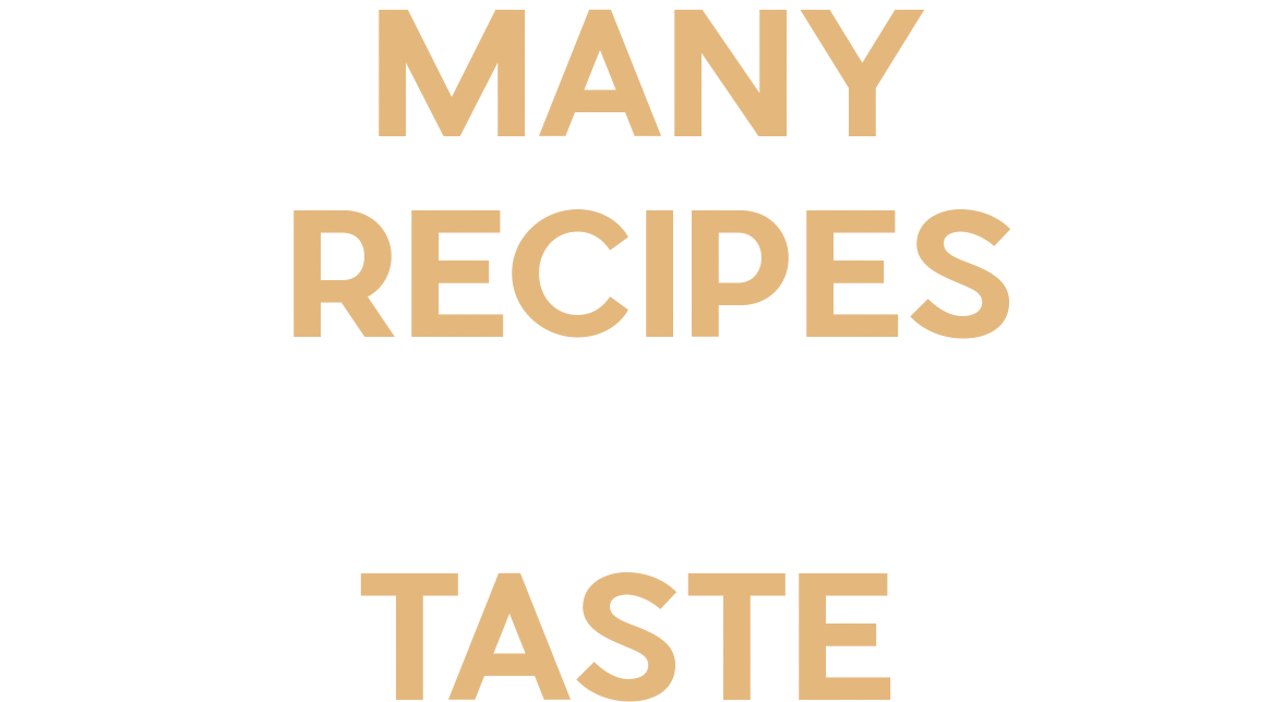 Many Recipes One Taste
